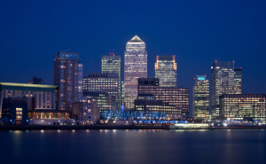 Chauffeur Services to Canary Wharf