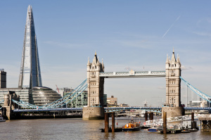 Chauffeur services to The Shard